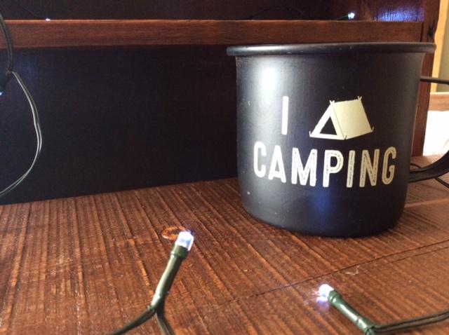 Citronella Enamel camping Mug