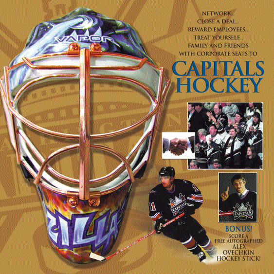 Washington Capitals Ticket Package