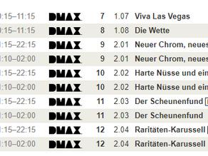 Cash für Chrom - Start der 2. Staffel am 01.12.2020 - DMAX