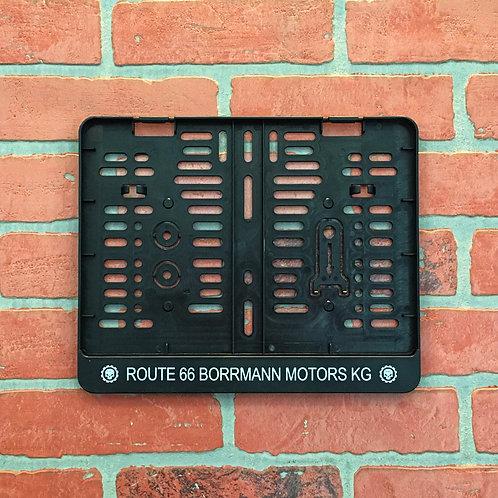 """Kennzeichenhalter 280x200 """"Borrmann Motors"""""""