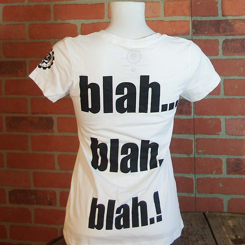"T-Shirt ""blah"" Lady"