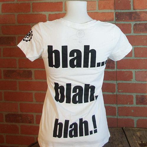 "T-Shirt ""blah"" Lady"