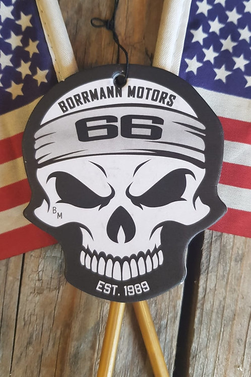 "Duft-Skull ""Borrmann Motors Redwood Original"""