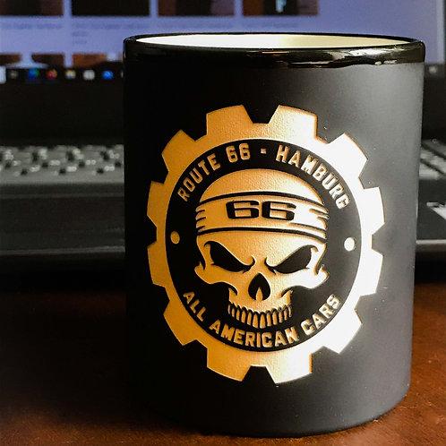 "Cup/ Pott ""Borrmann Motors"" black"