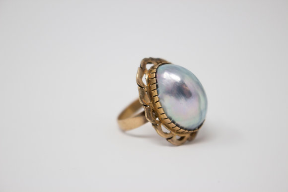 10k Gold Osmina Shell Ring
