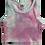Thumbnail: Pink/Blue Tie Dye Racerback Tank Top