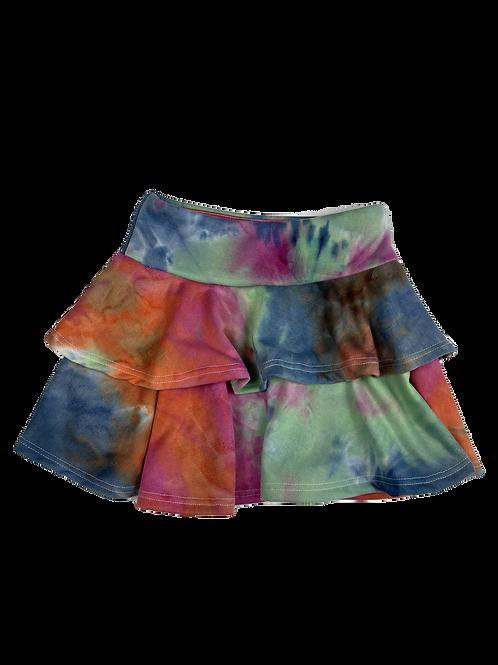 Berry Tie Dye Skirt