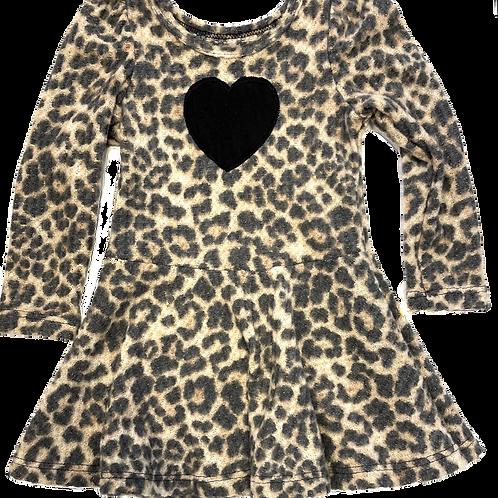 Leopard Waffle Cheetah Dress