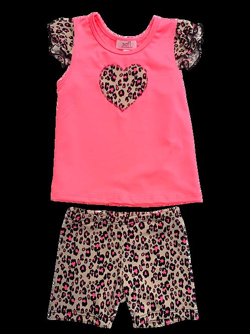 Tan Cheetah Set