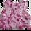 Thumbnail: Pink/White Tie Dye Racerback Tank Top