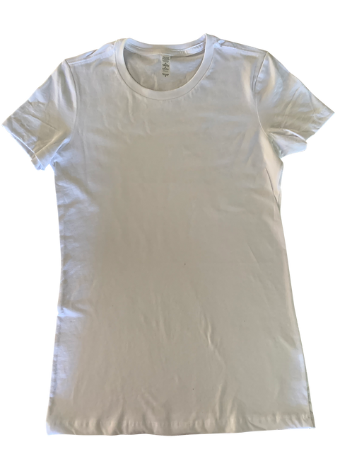 Design Your Own Women's White T-Shirt