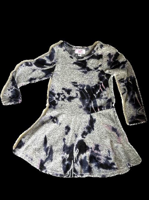 Grey Cashmere Dress