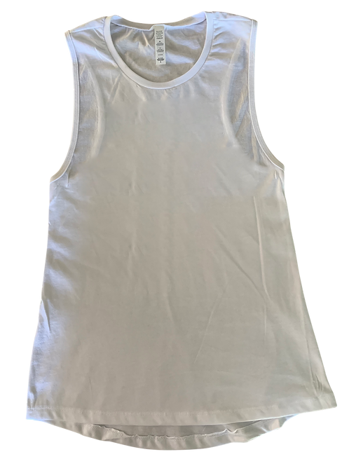Design Your Own Women's White Jersey Tank Top