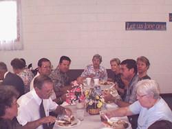 Dinner on thr grounds 07-30-2000 05