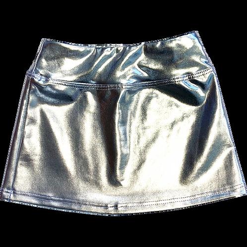 Silver Foil Skirt