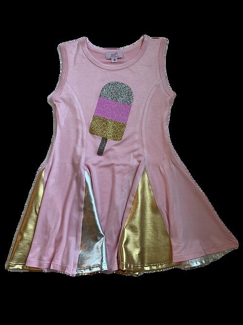 Pink, Silver, Gold Dress