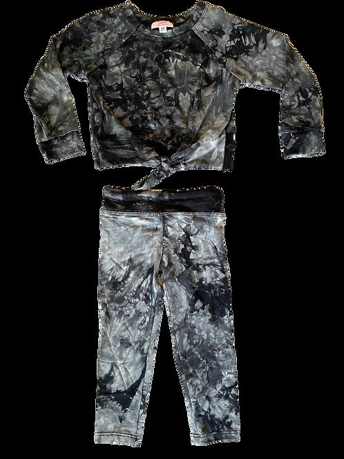 Black Tie Dye Set