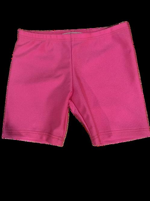 Neon Pink Bike Shorts