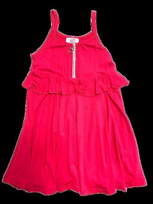 Fuchsia Zip Dress
