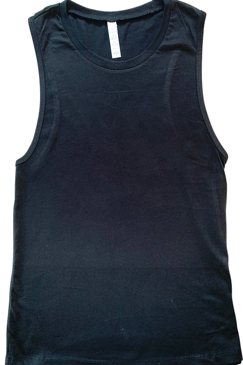 Design Your Own Women's Black Jersey Tank Top