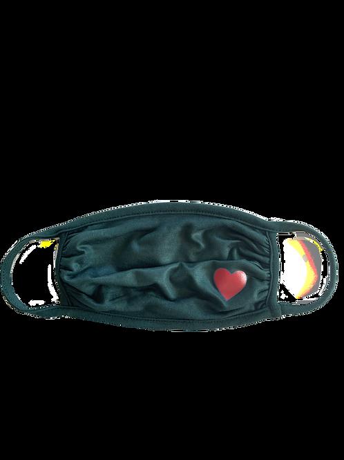 Hunter/Red Heart Mask