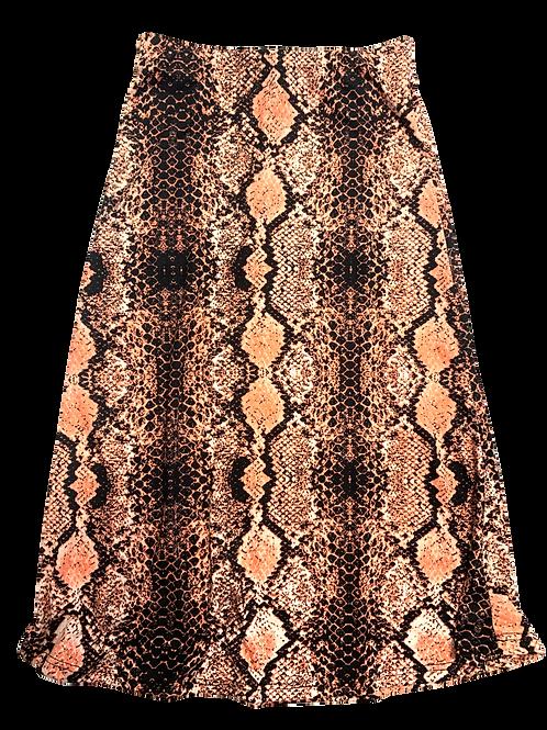 Coral Snake Maxi Skirt