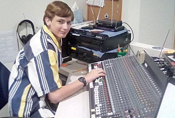 Joseph Passmore Sound board/Computer