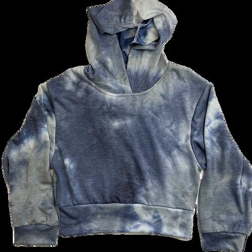 Indigo/Grey Tie Dye Pull Over