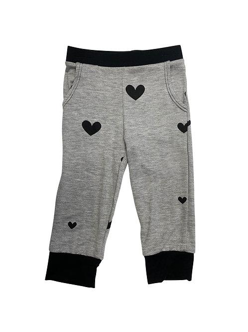 Gray/Black Joggers