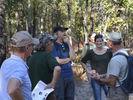 Joint Fire Science Governing Board: Field trip to the NJ pinelands