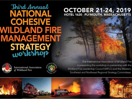 NAFSE Sessions at the 3rd Annual National Cohesive Wildland Fire Management Strategy Workshop