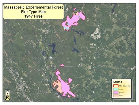 New England Fire History 'Stress Test' Project: Northeastern Forest Fire Protection Comp