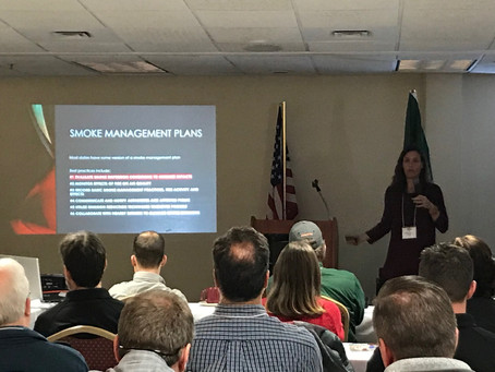 Smoke Effects Talk: Northeastern Forest Fire Protection Compact Winter Awareness Meeting