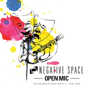 Open Mic - Negative Space