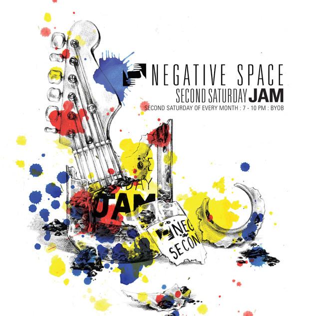 Jam Night - Negative Space