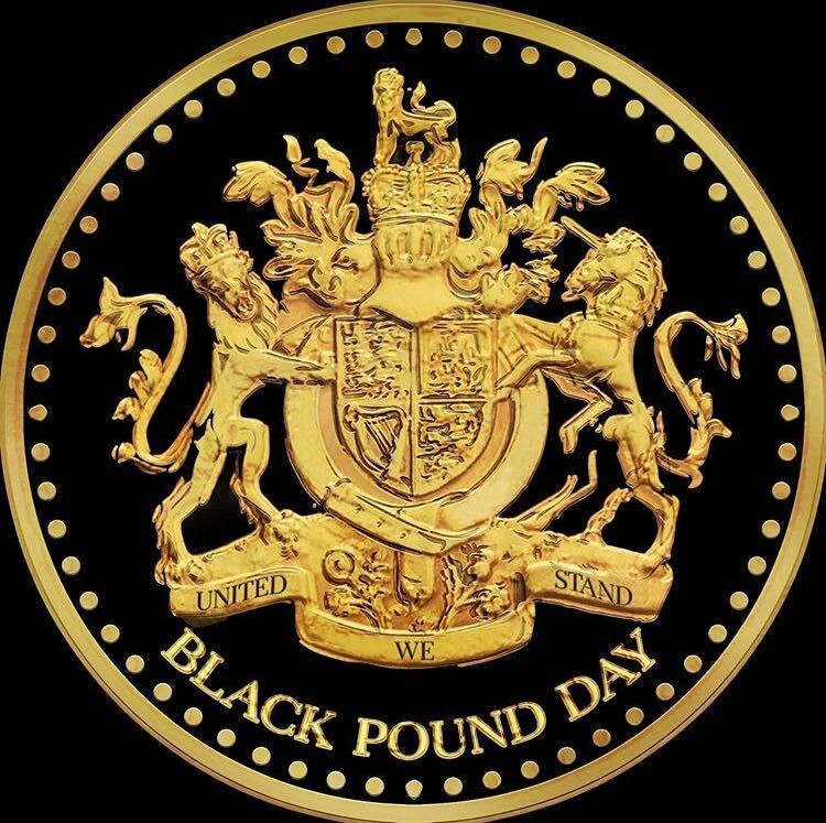 black pound day logo