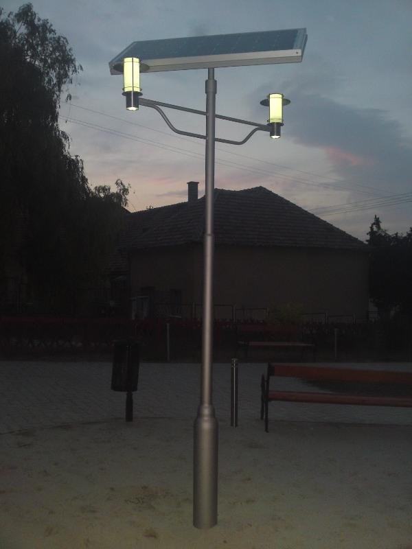 Solar-LED kandeláberek