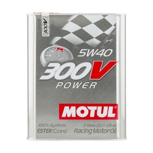 Motul 300V Power Engine Oil Promo Pack 5W40  (2L)