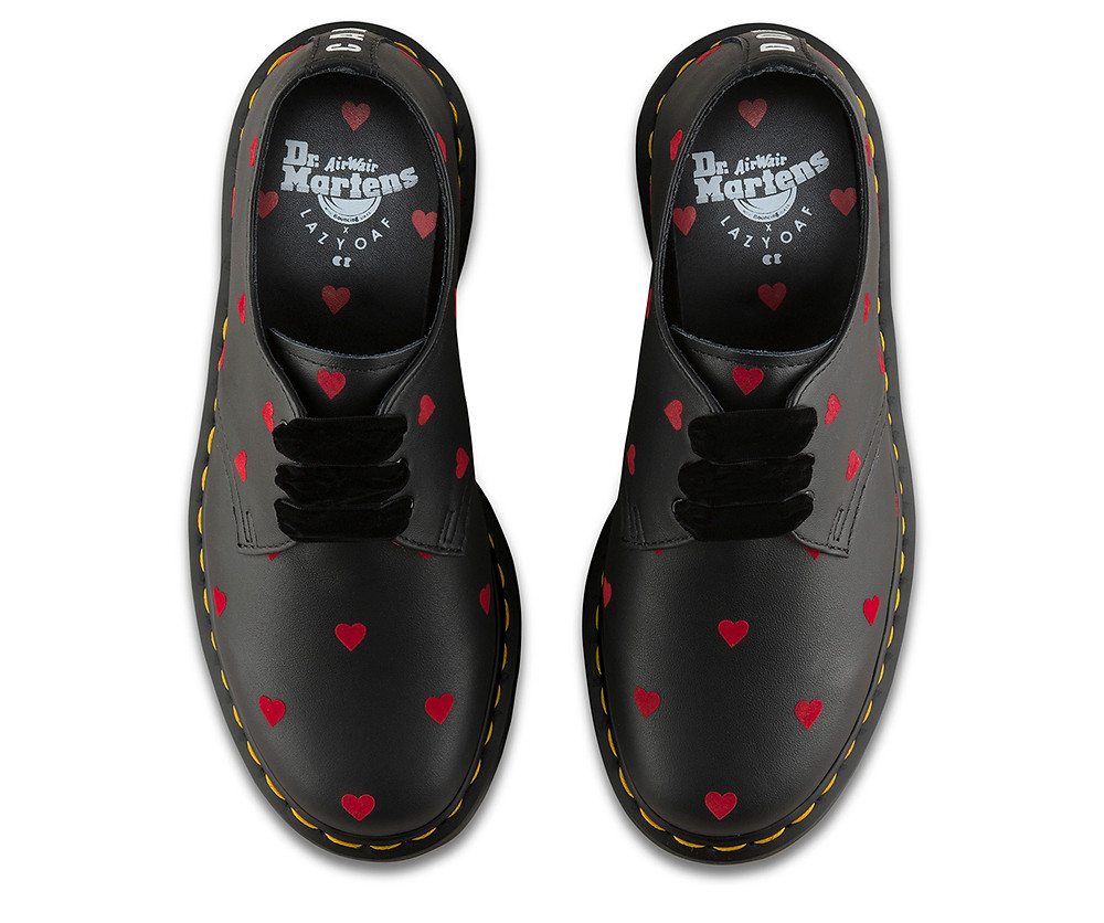 Dr Martens x Lazy Oaf 1461. Photograph taken from Dr Martens website