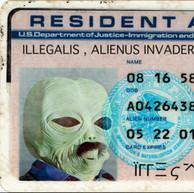 Alien ID card.