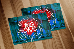 Big Give Postcard