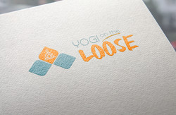 Yogi on the Loose Logo Mockup