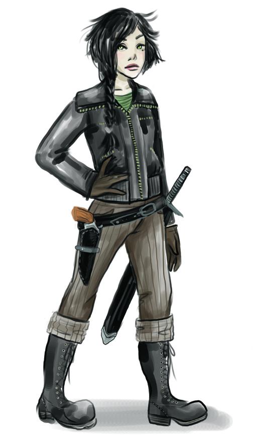 Valerie Corsair Character Design