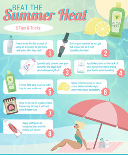 Tips for the Summer Infographic