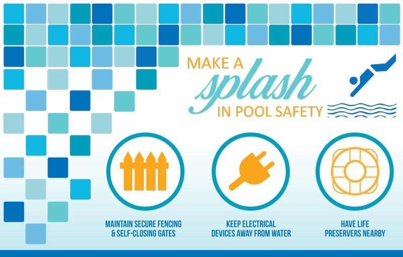 Pool Safety Postcard