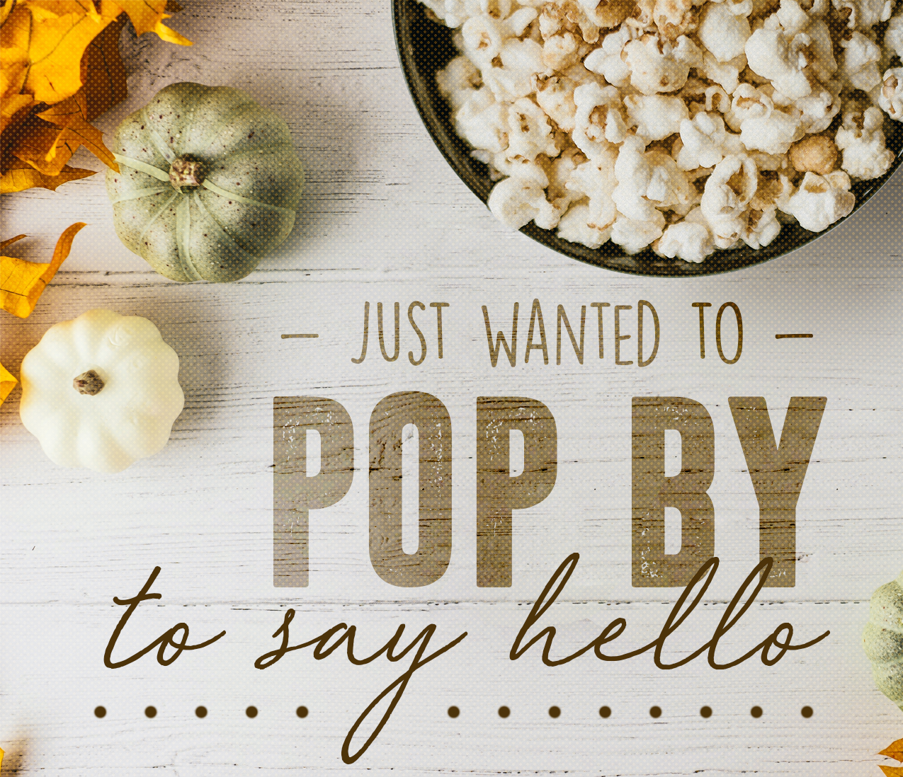 Popcorn Fall Pop By Tag