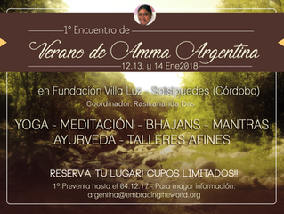 1º Encuentro de Verano de Amma Argentina