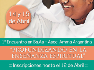 1º Encuentro en Bs.As - Asoc. Amma Arg