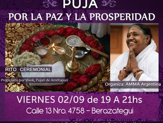 PUJA: Por la Paz y la Prosperidad