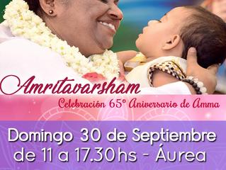 Celebración del 65º Aniversario de Amma